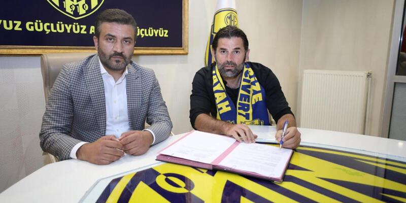 Ankaragücü'nün yeni teknik direktörü İbrahim Üzülmez oldu