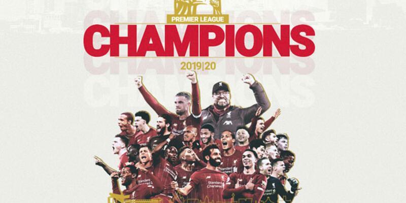 Liverpool, İngiltere Premier Lig'de 30 yıl sonra şampiyon oldu