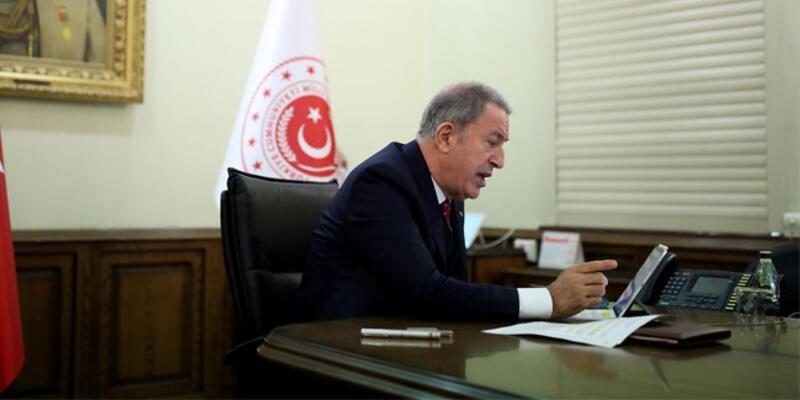 Son dakika haberi... Milli Savunma Bakanı Akar, NATO Genel Sekreteri  ile görüştü