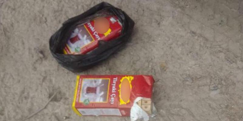 Amasya'da akılalmaz olay! Çay paketlerinin içine saklamışlar