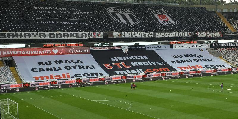 Beşiktaş taraftarından beIN Sports'a tepki!