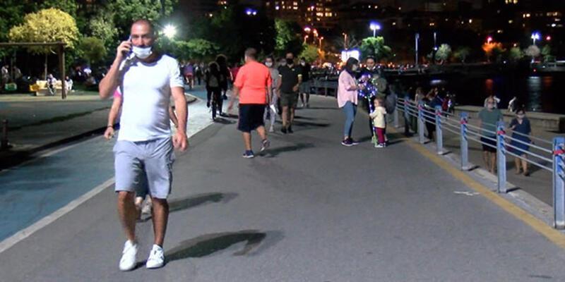 Fotoğraflar İstanbul'dan! Uyarılara rağmen maske takılmıyor