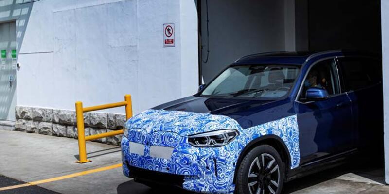 Yeni BMW iX3 seri üretim yolunda