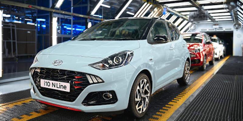 Hyundai yeni i10 N Line Türkiye'de üretilecek