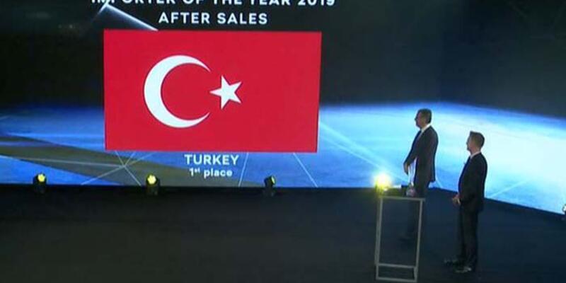 Yüce Auto, satış sonrasında global ödülü aldı