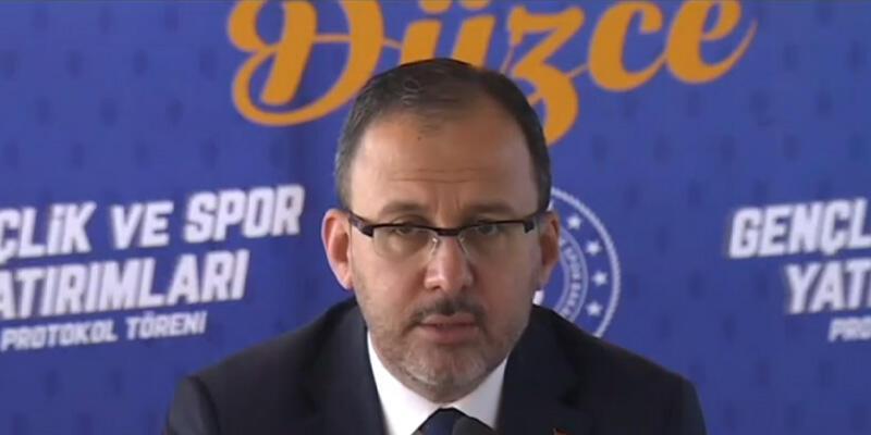 Gençlik ve Spor Bakanlığından Düzce'ye 32 milyon liralık yatırım