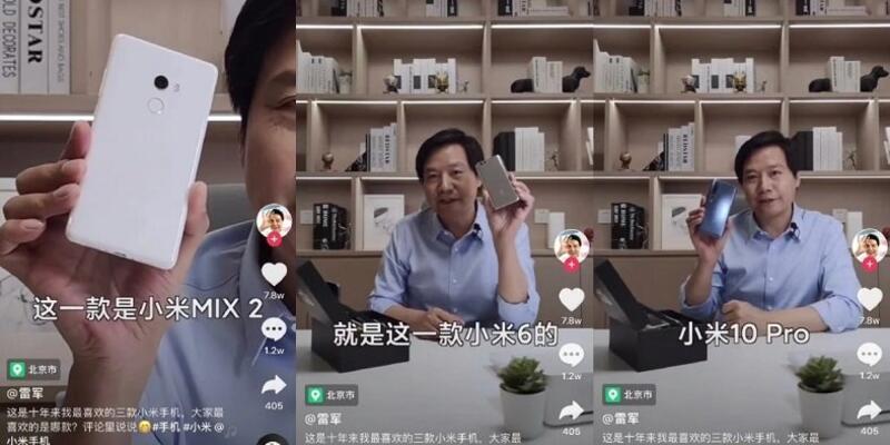 Xiaomi CEO'su hayran olduğu favori telefonları açıkladı