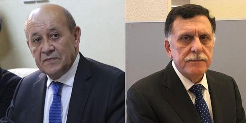 Son dakika... Fransa Dışişleri Bakanı, Sarrac ile telefonda görüştü