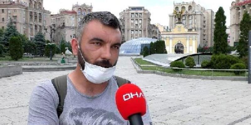 Ukrayna'da darp edilen Türk baba için Büyükelçilik devrede