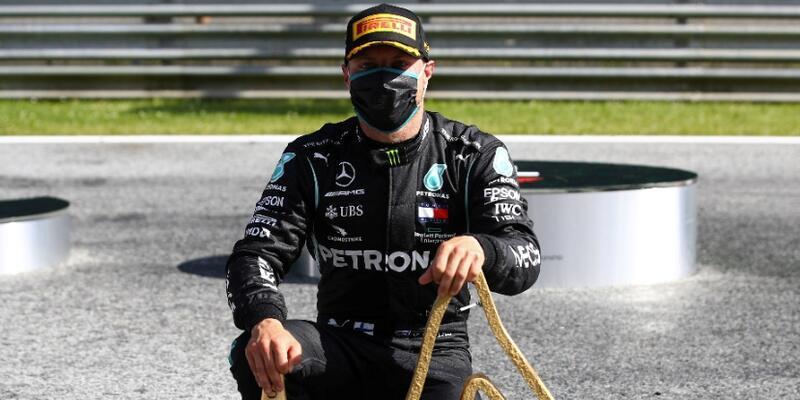 Formula 1'de sezonun ilk zaferi Valtteri Bottas'ın