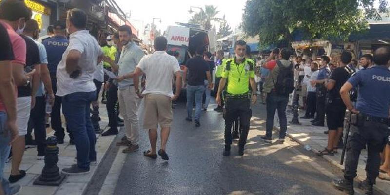 Bodrum'da marka gerginliği! Esnaf ile avukatlar arasında tartışma çıktı