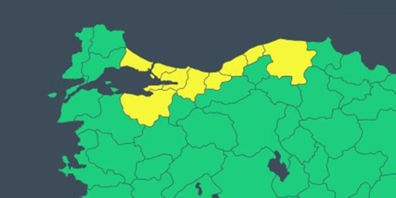 Son Dakika Haberleri: Meteoroloji'den 9 iliçin 'sarı' uyarı