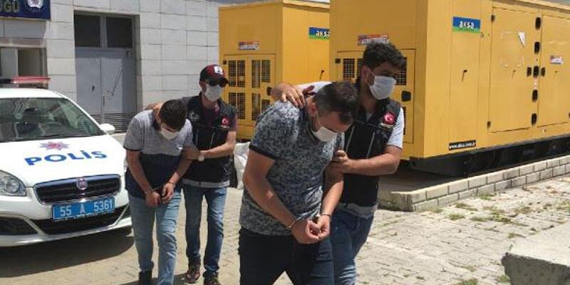 'Yardım kolisi' ile uyuşturucu sevkiyatı! Tutuklandılar