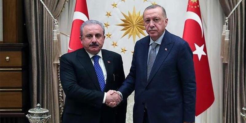 Son dakika! Cumhurbaşkanı Erdoğan'dan Meclis Başkanı Şentop'a tebrik telefonu