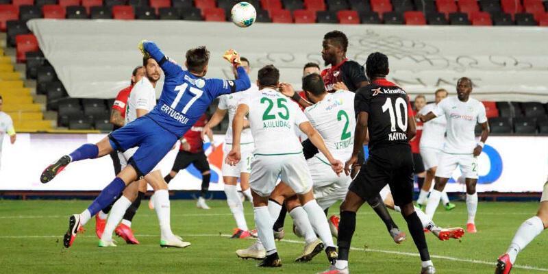 Gaziantep - Konyaspor: 3-1