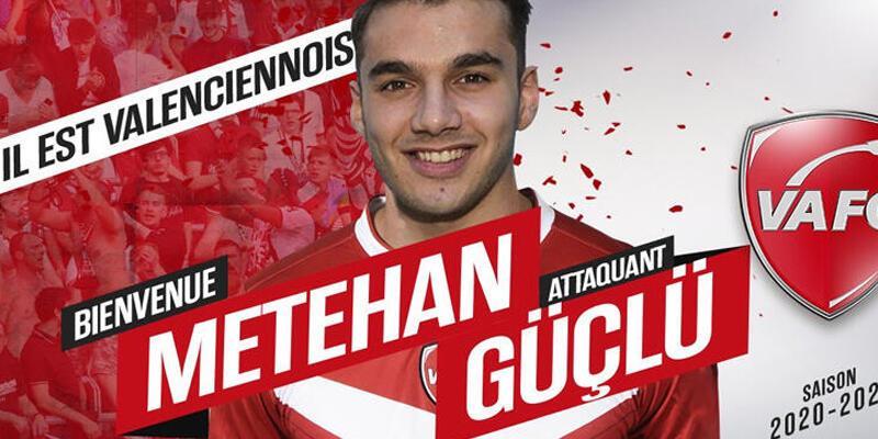 Metehan Güçlü Valenciennes'e kiralandı