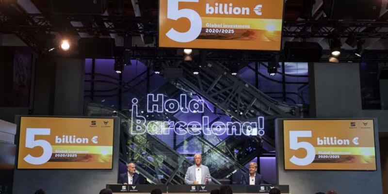 Seat'ten 5 yılda 5 milyar euroluk yatırım planı