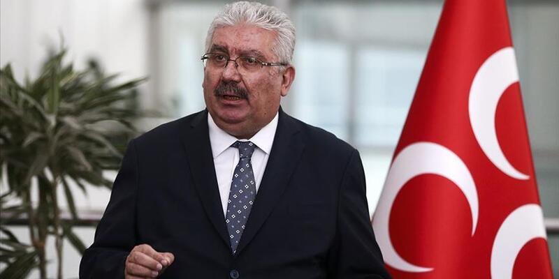 MHP Genel Başkan Yardımcısı Yalçın'dan 'Ayasofya' açıklaması