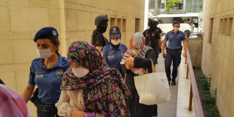 'Gaybubet evleri'ne yapılan operasyonda gözaltına alınan 14 kişi adliyede