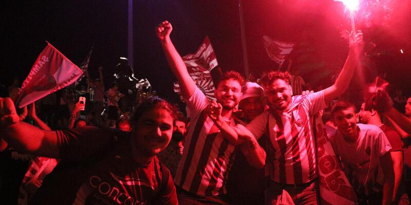 Hatayspor'un şampiyonluk coşkusu
