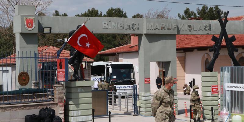 Son dakika... Burdur'da, 33 askerde koronavirüs tespit edildi! 221 asker karantinada...