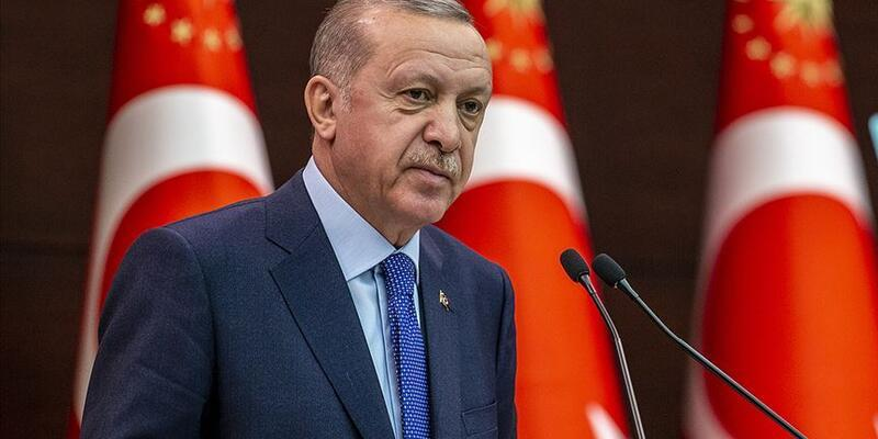 Son dakika... Cumhurbaşkanı Erdoğan'dan şehit ailesine başsağlığı mesajı