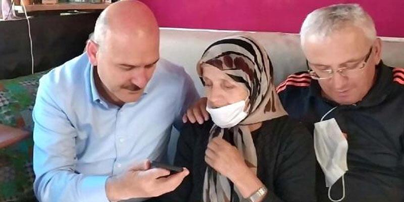 Cumhurbaşkanı Erdoğan, şehit ailesi ile görüştü