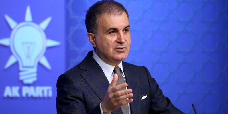 AK Parti Sözcüsü Çelik: Ahlaksız iftiranın arkasına saklanıyordur