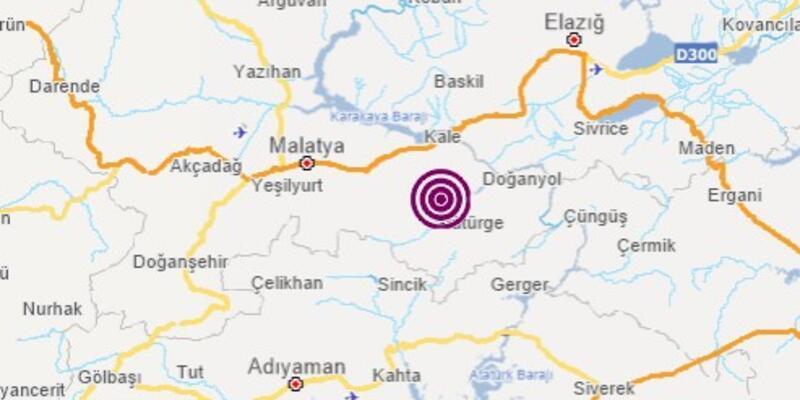 Son dakika... Malatya'da 3,4 büyüklüğünde deprem