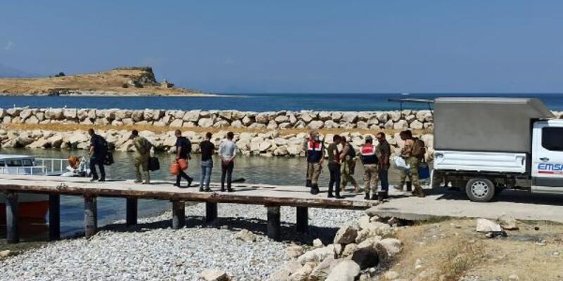 Van Gölü'nde kaçak göçmenleri arama çalışmaları yeniden başladı