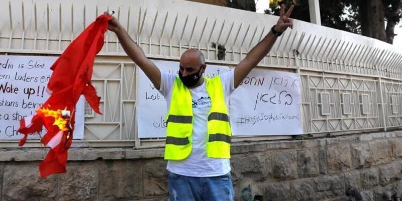 Son dakika... Kudüs Başkonsolosu Demirer: Türk bayrağına yapılan saldırıya ilişkin soruşturma başlatıldı