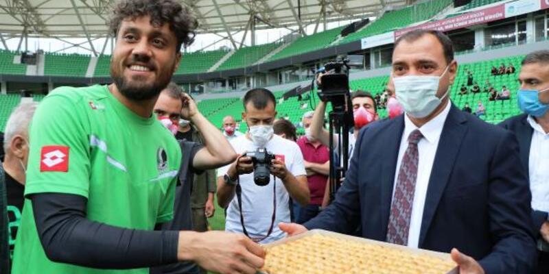 Sakaryaspor play-off öncesi son idmanını yaptı