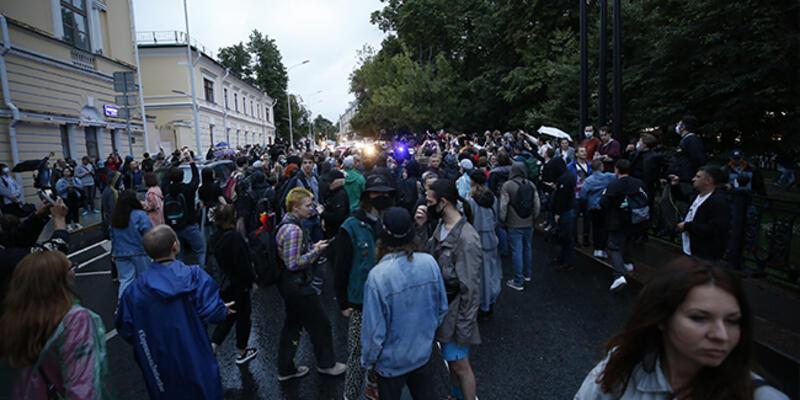 Rusya'da Putin'e protesto