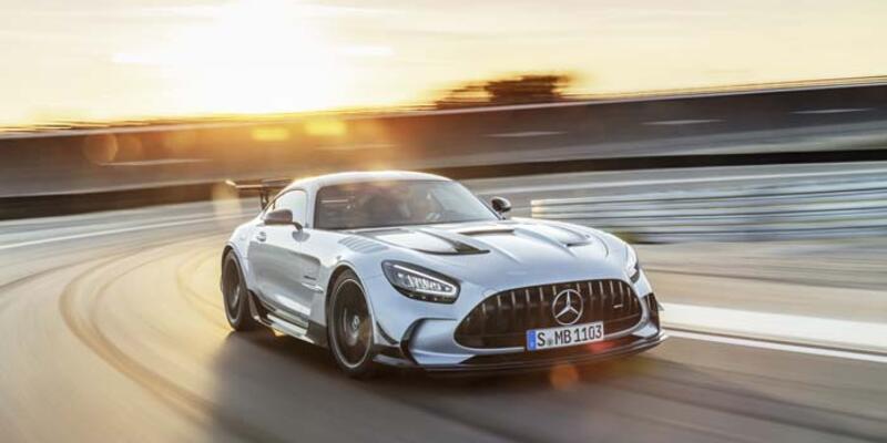 Mercedes-AMG GT Black Series asfalta iniyor