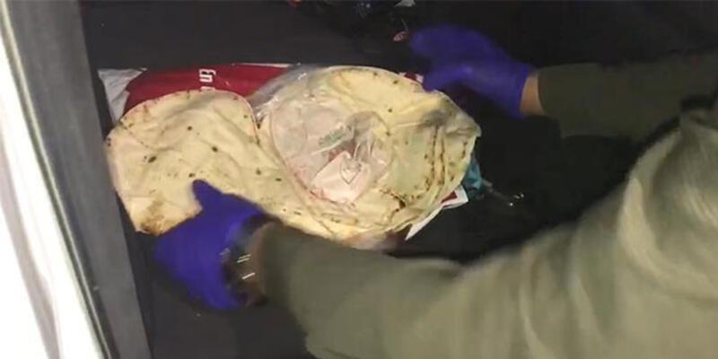 Lavaşa sarılı halde bulundu: 3 gözaltı
