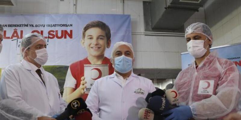 Türk Kızılay Genel Başkanı Kınık: Kurban vekaleti hisse bedeli 1050 TL