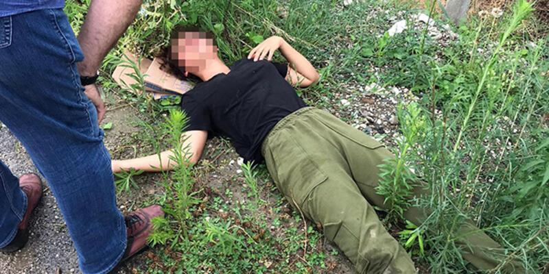 Vücudunda darp izleri olan genç kız, yol kenarında baygın bulundu
