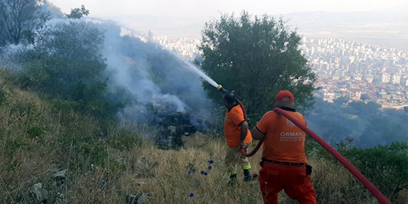Bahçe temizliği ateşi orman yangınına neden oldu