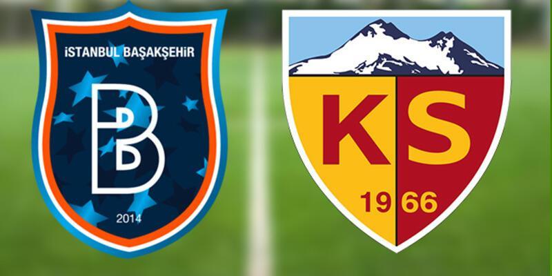 Başakşehir Kayserispor maçı saat kaçta? Şampiyonluk düğümü çözülüyor!