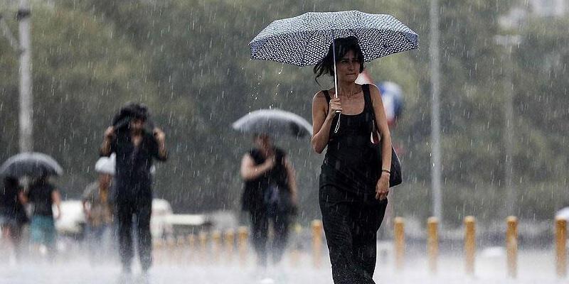 Meteoroloji bölge bölge uyardı! Sağanak yağış geliyor