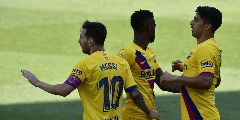 Barcelona 5 golle sezonu bitirdi
