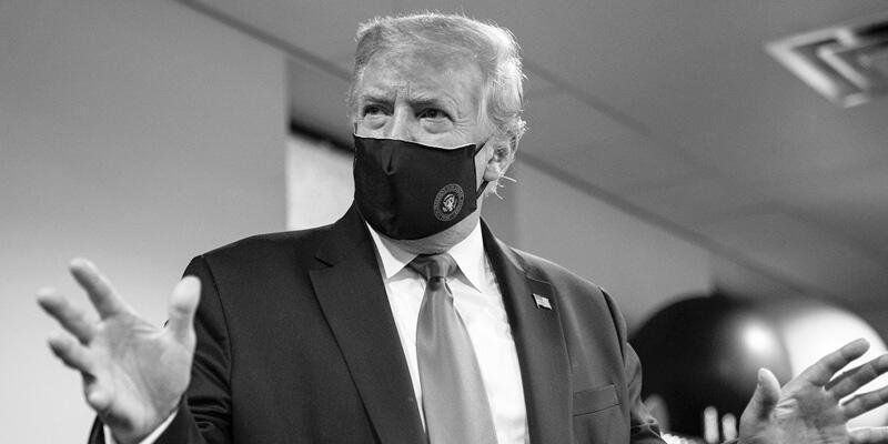 ABD Başkanı Trump'tan maskeli 'vatanseverlik' mesajı