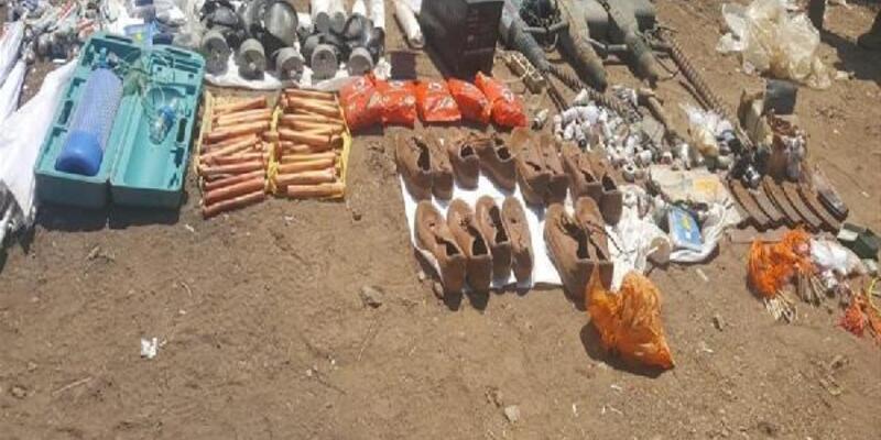 MSB: Pençe-Kaplan Operasyonu'nda ele geçirilen malzemeler imha edildi