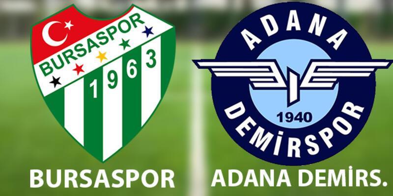 Play off ilk maç! Bursaspor Adana Demirspor maçı hangi kanalda, ne zaman, saat kaçta?