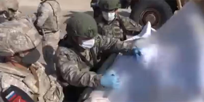 Son dakika... İdlib'de 22'nci Türk-Rus Birleşik Kara Devriyesi icra edildi