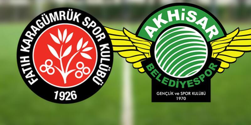 Fatih Karagümrük Akhisar play off maçı hangi kanalda, ne zaman, saat kaçta?