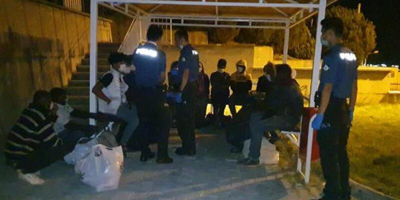 Bursa'da 17 düzensiz göçmen yakalandı