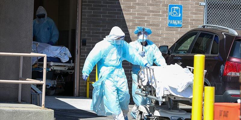 Son dakika... ABD'de koronavirüs nedeniyle son 24 saat içinde 1164 kişi öldü