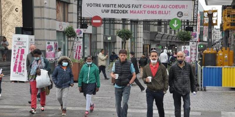 Son dakika... Belçika sokaklarında maske takmak zorunlu