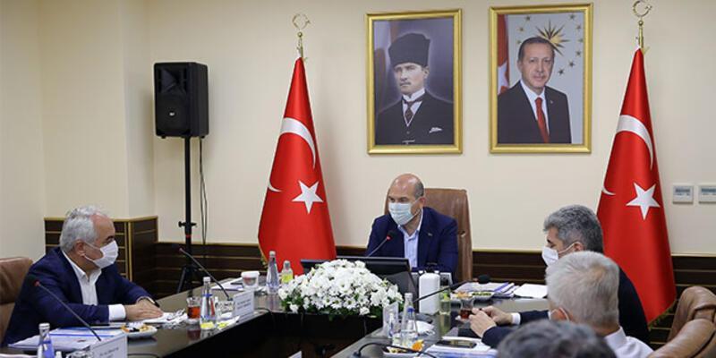 Mersin'de Bakan Soylu başkanlığında güvenlik toplantısı